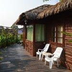 River cottage - the deck