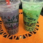 Taro and Honeydew