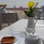 Tea by the sea in sunny Southwold
