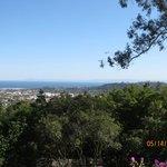From the main building looking over Santa Barbara & ocean
