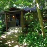 Front Entrance to Big Sur Cabin
