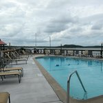 Pool on IntraCoastal Waterway