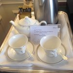 Lovely pot of English tea on arrival