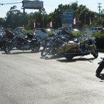 Bikers everywhere ...Biker week at Myrtle Beach