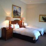 Suite bedroom -we asked for 2 separate beds, it can be done king style as well