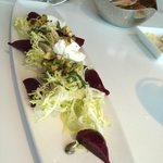 Barbatiole - beet salad with perfect frisee