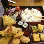 Bandeja de mix de tempura