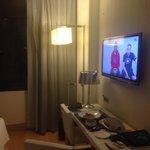 Télé large