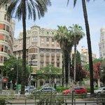 Impressie centrum Valencia