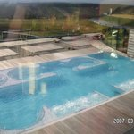 Obere Poollandschaft - Therme (warm)