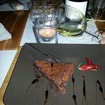 Il dessert torta cioccolato peperoncino