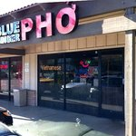 blue ginger pho store front