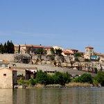 rio Tormes y Zamora al fondo