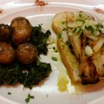Um dos pratos com bacalhau.