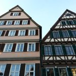 Charming old-world buildings