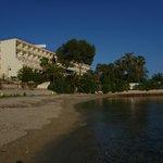 Frente do Hotel - Vista da praia