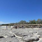 plaża nad laguną