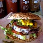 El Bacoa burger :)