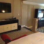 TV in sleeping area