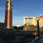 View from front balcony of Venetian