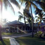 Vista del lobby desde la playa