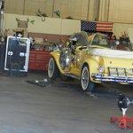 Gatsby car getting a tune up