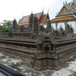 Angkor Wat model at Grand Palace
