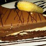 Chocolate truffle desert