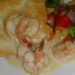 Shrimp and scallop main course
