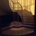 Spa staircase
