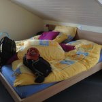Very comfortable beds - getting ready for another adventure