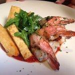 Shrimp on Small Plate
