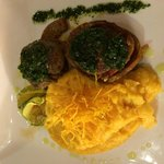 Tournedos de Alpaca yummy delicious alpaca served with mashed sweet potatoes. So tasty!