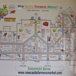 New Castle Farmers Market Map