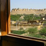 View of Jaisalmer Fort from the room