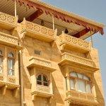 Jaisalmer Stone carved Balcony and Jharokhas of room