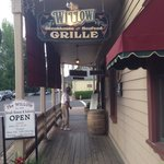 The willow Grille in Jamestown.