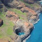 One of the many amazing shots of the Na Pali Coast