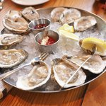 Oysters from Virginia