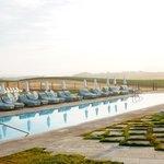 Main pool at dawn