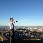 Holger on top of the world