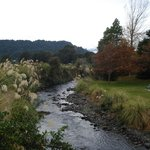 The Mangawhero Walkway goes up the side of the river, opposite The Peaks