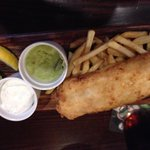 Fish&Chips en el Bad Ass Cafe
