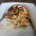 Mushroom and blue cheese tartlette! Amazing