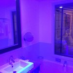 bathroom with ambient lightning