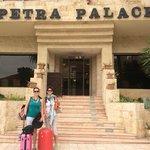 Leaving Petra