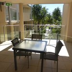 our terrace, seating for 4 accomodation for 6?