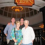 Dinner at The Rooftop Crown Restaurant