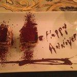 Special anniversary tiramisu