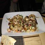 Seafood Bruschetta (Delicious!)